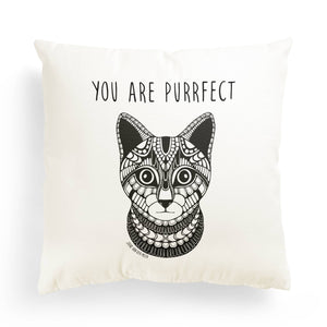 "Pillowcase Cat ""You are purrfect"""