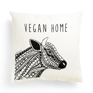 "Pillowcase Cow ""Vegan Home"""