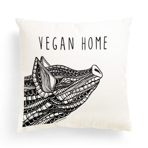 "Pillowcase Pig ""Vegan Home"""