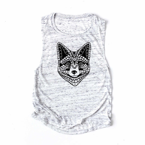 Tanktop Fox 🦊 (text on the back)