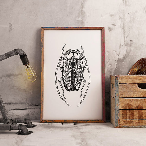 Art Print Insect 1
