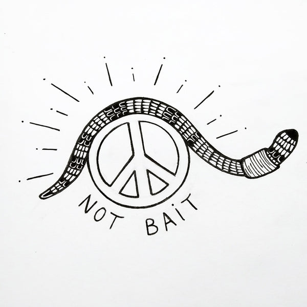 Original Artwork - Not Bait