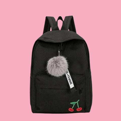 black backpacks for teenage girls