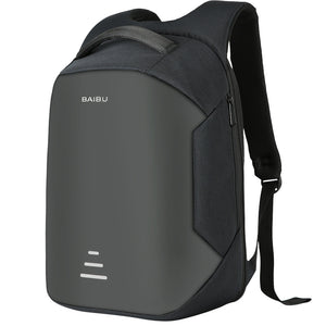 Anti Theft Laptop Backpacks, Adjustable Strap, Top Handler, Zipper - [1-Black-1-L] - TheRightBuy4BackPacks.com