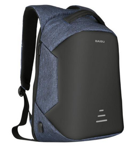 Anti Theft Laptop Backpacks, Adjustable Strap, Top Handler, Zipper - [1-Blue-1-L] - TheRightBuy4BackPacks.com