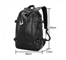 Load image into Gallery viewer, USB Charging Leather Backpack for Men For Travel - [variant-title] - TheRightBuy4BackPacks.com
