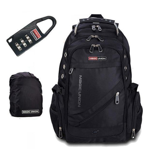 Anti Theft Travel Backpack For Men With Lock - [variant-title] - TheRightBuy4BackPacks.com