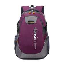 Load image into Gallery viewer, Camping Waterproof Backpack, Adjustable Strap, Top Handler, Front Pocket, Zipper - [1-Dark Purple] - TheRightBuy4BackPacks.com