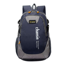 Load image into Gallery viewer, Camping Waterproof Backpack, Adjustable Strap, Top Handler, Front Pocket, Zipper - [1-Dark Blue] - TheRightBuy4BackPacks.com