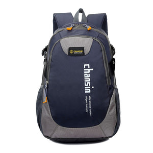 Camping Waterproof Backpack, Adjustable Strap, Top Handler, Front Pocket, Zipper - [1-Dark Blue] - TheRightBuy4BackPacks.com