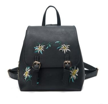Stylish Floral Embroidery Backpack - [variant-title] - TheRightBuy4BackPacks.com