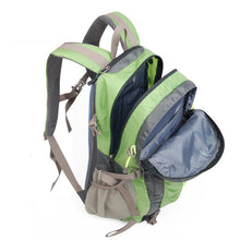 Load image into Gallery viewer, Open Viewed Camping Gear Backpack, Adjustable Strap, Top Handler, Front Pocket, Zipper, Side Pocket - [1-Fruit Green] - TheRightBuy4BackPacks.com