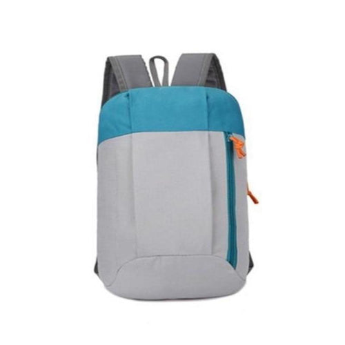 Best Unisex Backpack For Travelers, Adjustable Strap, Top Handler, Unique Side Pocket, Zipper - [1-Gray] - TheRightBuy4BackPacks.com