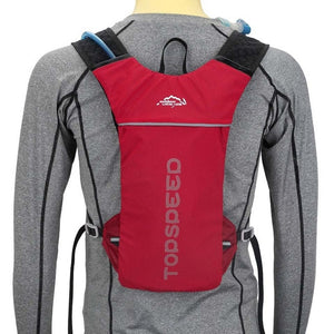 Cycling Sports Bag, Adjustable Strap, Top Handler, Zipper - [1-Red] - TheRightBuy4BackPacks.com