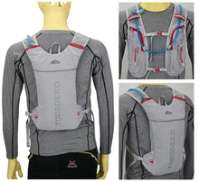 Load image into Gallery viewer, Three Way Viewed Cycling Sports Bag, Adjustable Strap, Top Handler, Zipper - [1-Gray] - TheRightBuy4BackPacks.com