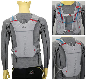 Three Way Viewed Cycling Sports Bag, Adjustable Strap, Top Handler, Zipper - [1-Gray] - TheRightBuy4BackPacks.com