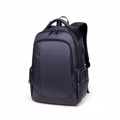 Bullet Proof School Backpack, Adjustable Strap, Top Handler, Front Pocket, Side Pocket, Zipper - [1-Navy] - TheRightBuy4BackPacks.com