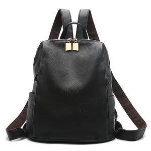 School Style Backpack with Interior Zipper Pocket-Computer Interlayer and Cell Phone Pocket - [variant-title] - TheRightBuy4BackPacks.com