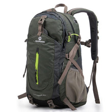 Load image into Gallery viewer, Camping Gear Backpack, Adjustable Strap, Top Handler, Front Pocket, Zipper, Side Pocket - [1-Army Green] - TheRightBuy4BackPacks.com