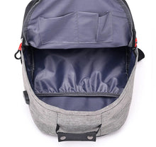 Load image into Gallery viewer, Two-Tone USB Port Backpack - [variant-title] - TheRightBuy4BackPacks.com