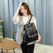 Load image into Gallery viewer, Replace Your Handbag with This Stylish Bowknot Backpack Accessories Include Free Wallet and Card Holder - [variant-title] - TheRightBuy4BackPacks.com
