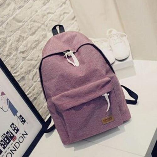 Stylish Canvas Backpack  For Women - [variant-title] - TheRightBuy4BackPacks.com