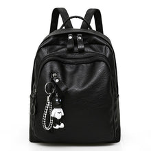 Load image into Gallery viewer, Large Capacity Bag, Adjustable Strap, Top Handler, Front Pocket, Zipper - [1-Black] - TheRightBuy4BackPacks.com