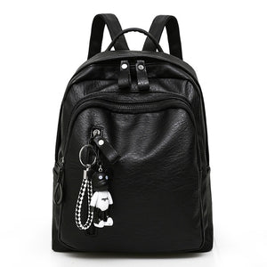 Large Capacity Bag, Adjustable Strap, Top Handler, Front Pocket, Zipper - [1-Black] - TheRightBuy4BackPacks.com