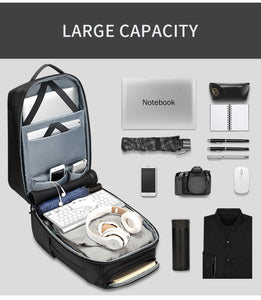 Anti-theft Travel Backpack Waterproof Laptop Backpack w USB - [variant-title] - TheRightBuy4BackPacks.com