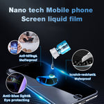 Anti-Hitting&Scratch Eye protecting Waterproof Mobile phone Screen liquid film