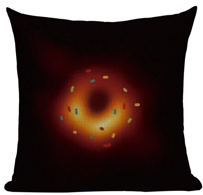 Black Hole Cushion Cover