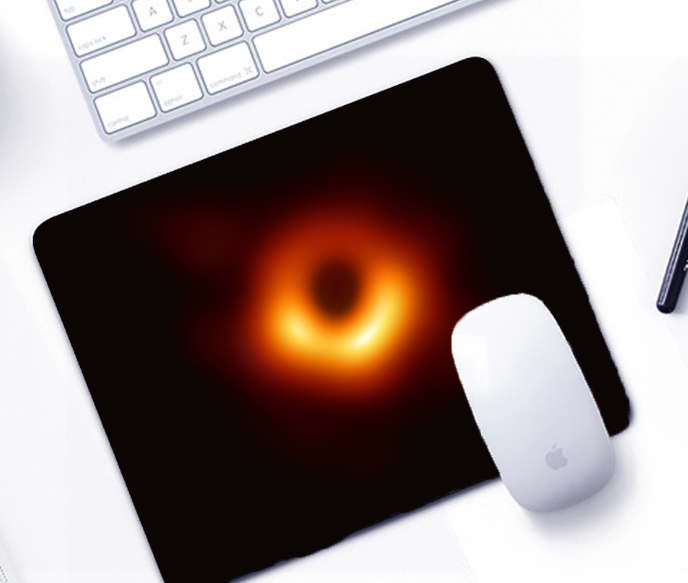Black Hole Mouse Pad