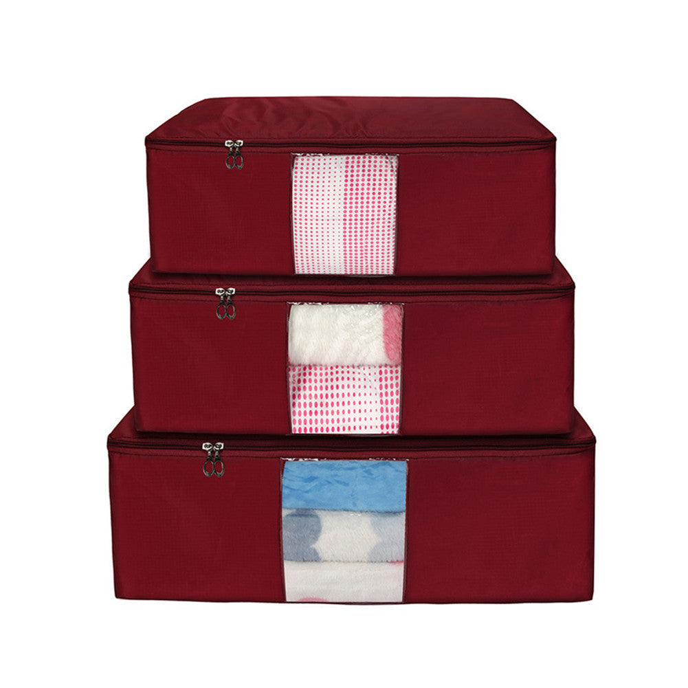 Quilt Bag Storage Blanket Organizer Containers