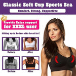 *2019 Hot Selling TV Products* Classic Soft Cup Sports Bra (3 pcs)