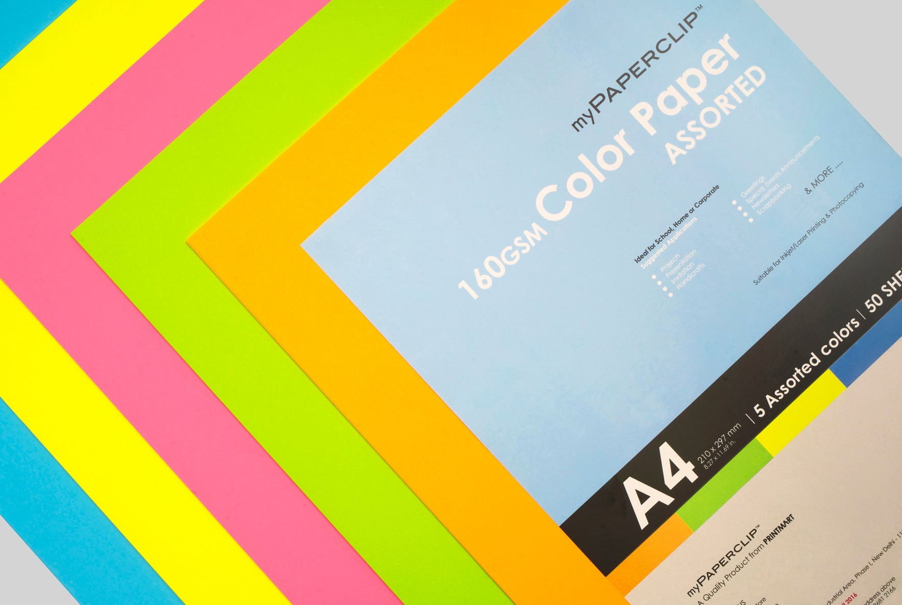 COLOUR & UNCOATED PAPER