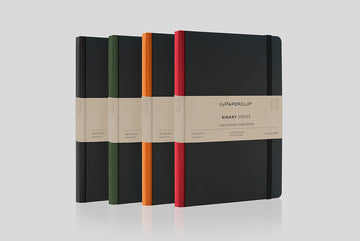 BSH192A5 - Black Hard Cover, Colour Spine