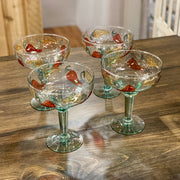 Set of 4 Jalapeno Margarita Glasses