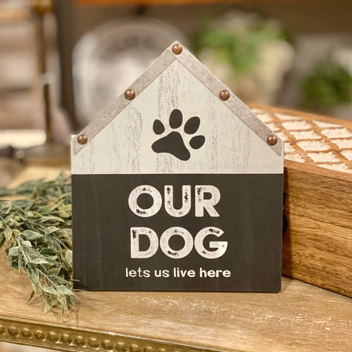 Dog-Themed Sign