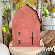 Red Barn Bird House