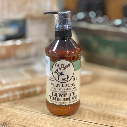 Outlaw Body Lotion