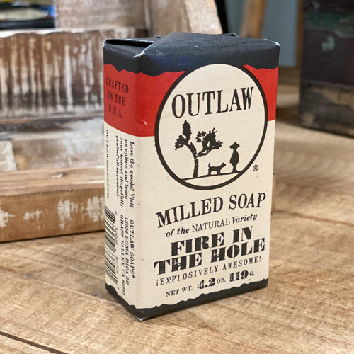 Outlaw Milled Soap
