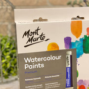 Mont Marte Premium Watercolour Paints