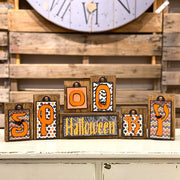Halloween Themed Block Tags