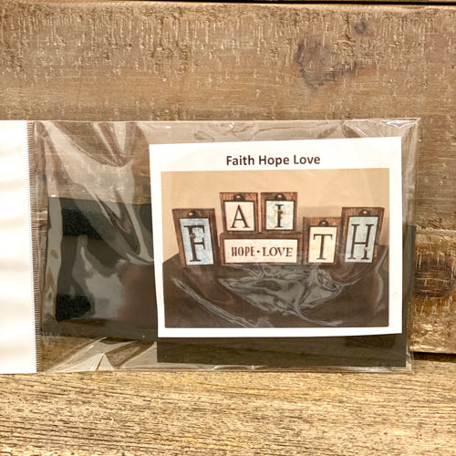 Faith Block Tag Set