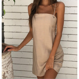 Women'S Sling Sexy Backless Dress