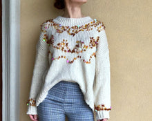 Load image into Gallery viewer, SEQUINED ROUND LOOSE SWEATER