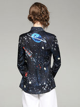 Load image into Gallery viewer, SPACE PRINTED BLOUSE