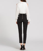 Load image into Gallery viewer, HIGH WAIST PEARL PANTS
