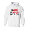 Mens No Fears, No Worries, Just Faith