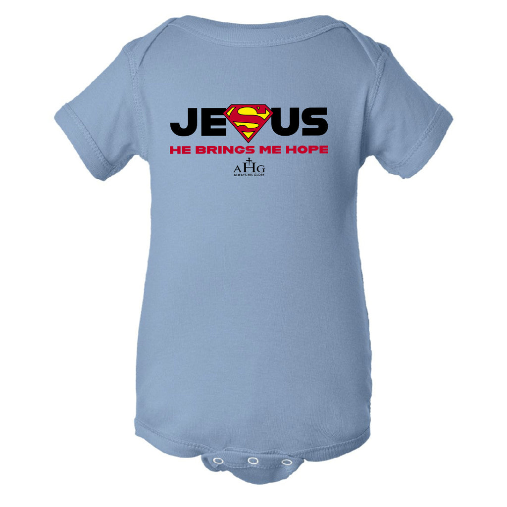Baby Jesus Superman